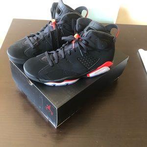 Nike Infrared Jordan's